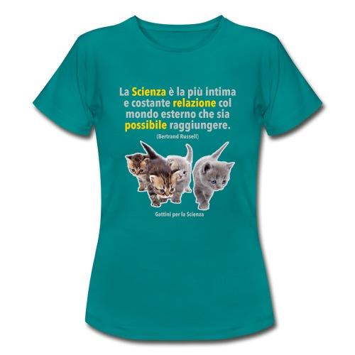 Filosofia Scientifica Russell (donna) - Maglietta da donna