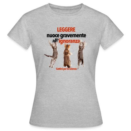 Gattini Leggere (donna) - Maglietta da donna