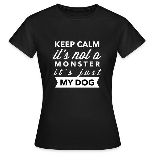 Tee shirt Femme Keep calm - T-shirt Femme