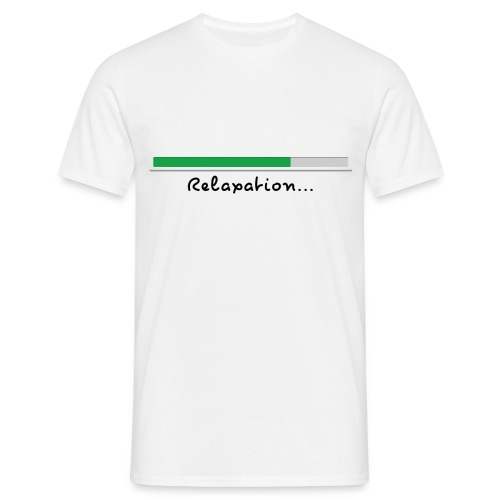 T-shirt white Relaxing for men - Men's T-Shirt