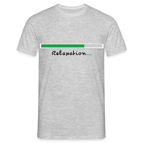 T-shirt grey Relaxing for men - Men's T-Shirt