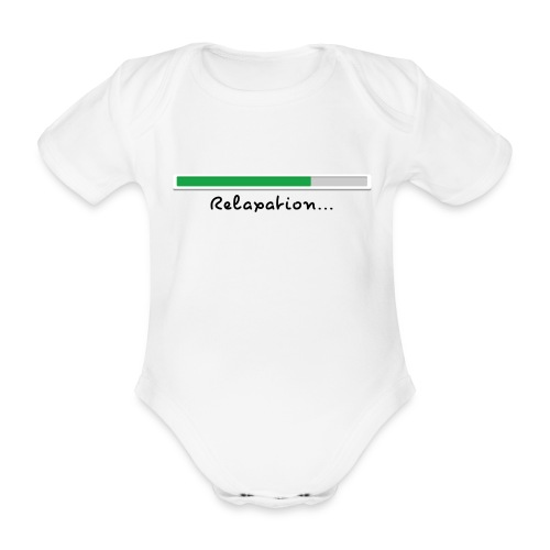 a white short sleeve body - Organic Short-sleeved Baby Bodysuit