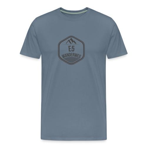 Wanderweg E5 | T-Shirt Herren - Männer Premium T-Shirt
