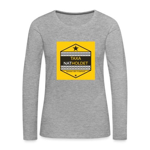 Taxa Natholdet Trøje - Dame premium T-shirt med lange ærmer