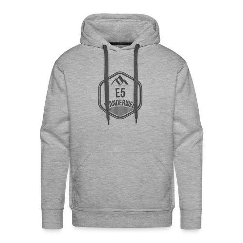 Wanderweg E5 Hoodie | Herren - Männer Premium Hoodie