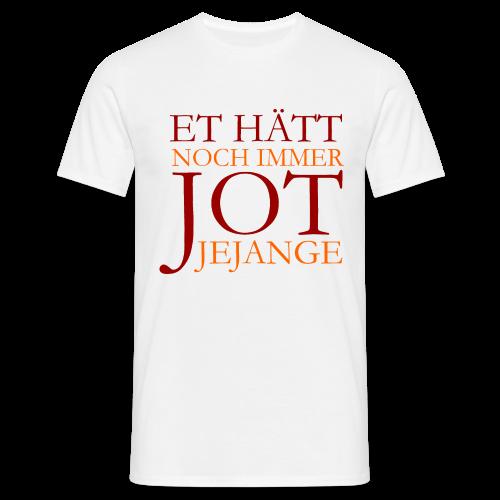 Et hätt noch immer jot jejange (Rot) Köln T-Shirt - Männer T-Shirt