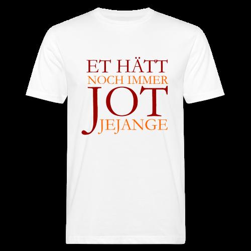 Et hätt noch immer jot jejange (Rot) Köln Bio T-Shirt - Männer Bio-T-Shirt