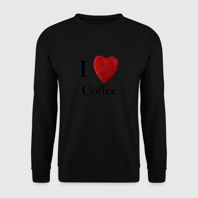 I love Coffee - Männer Pullover