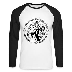Hot Rods Racing Parts - Men's Long Sleeve Baseball T-Shirt