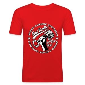 Hot Rods Racing Parts - Men's Slim Fit T-Shirt