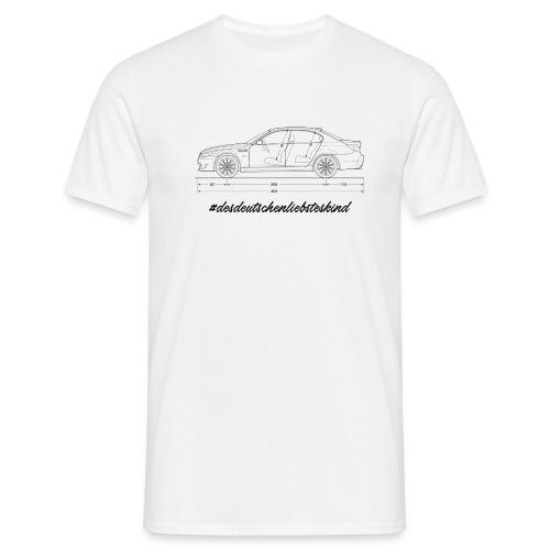 Bavarian shirt desdeutschenliebsteskind - Männer T-Shirt