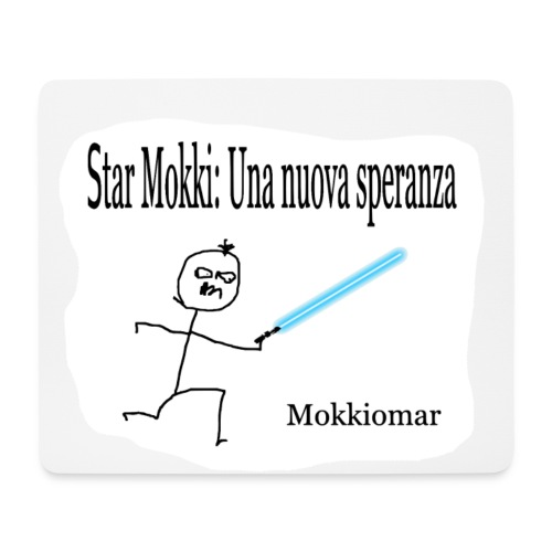 Star Mokki - Tappetino per mouse (orizzontale)
