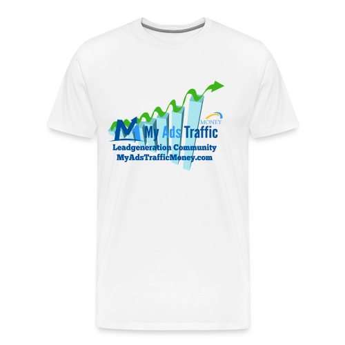 MyAdsTrafficMoney Premium T-Shirt  .  div. Farben - Männer Premium T-Shirt