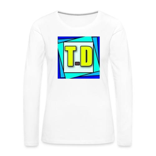 Camiseta Manga Larga ThecrewDario - Women's Premium Longsleeve Shirt
