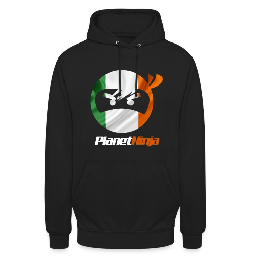 Unisex Irish Black Ninja hoodie - Unisex Hoodie