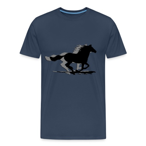 Graphic Horses T Shirt - Men's Premium T-Shirt