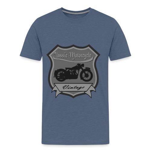 Classic Motorcycle T Shirt. - Men's Premium T-Shirt
