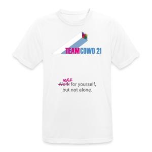 Männer-Funktionsshirt COWO21 - Männer T-Shirt atmungsaktiv