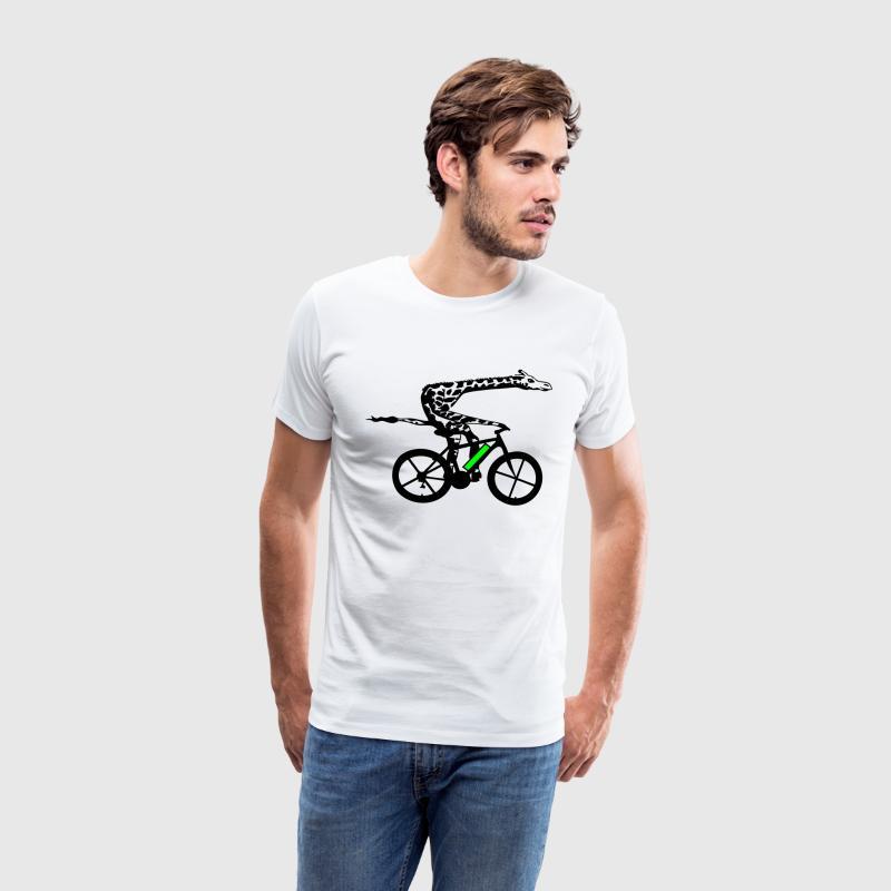 e bike giraffe t shirt spreadshirt. Black Bedroom Furniture Sets. Home Design Ideas