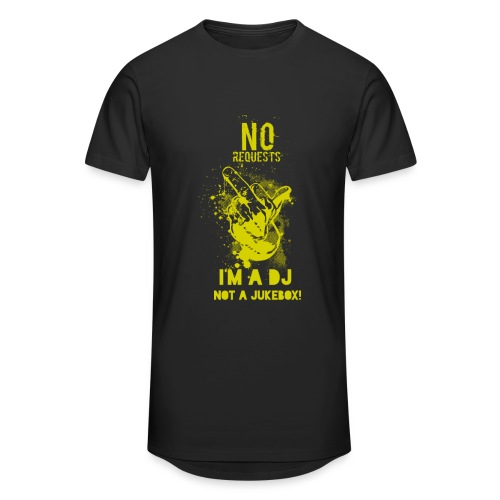 No Request Yellow Long - Men's Long Body Urban Tee