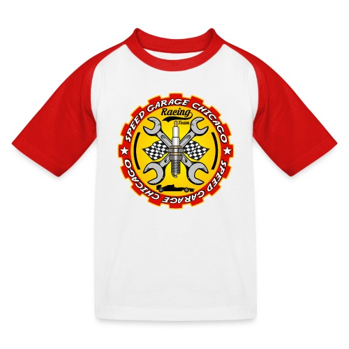 Racing Team - Kids' Baseball T-Shirt