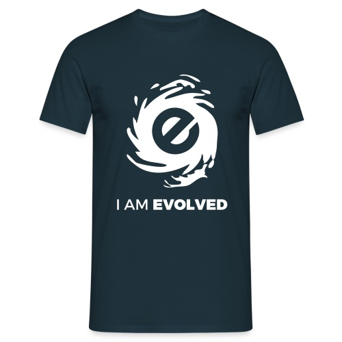 I Am Evolved Mens T-Shirt - Men's T-Shirt
