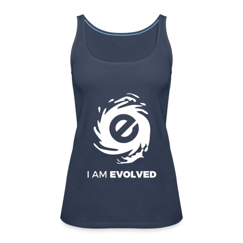 I Am Evolved Women Premium Tank Top - Women's Premium Tank Top