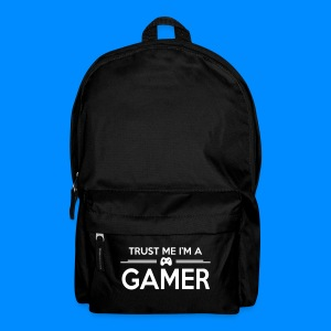 Official GalaxyGamingHD 'Trust Me I'm A Gamer' Black Backpack - Backpack