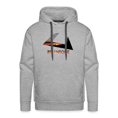 Be Unique Kapuzenpullover - Warmes Design - Männer Premium Hoodie