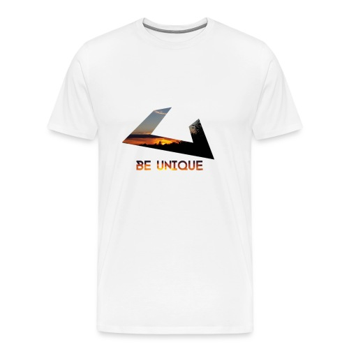 Be Unique Tshirt - Warmes Design - Männer Premium T-Shirt
