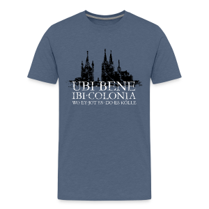 UBI BENE DO ES KÖLLE Dom St.Martin (Vintage S/W) Teenager T-Shirt - Teenager Premium T-Shirt