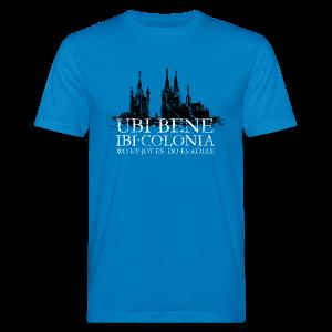UBI BENE DO ES KÖLLE Dom St.Martin (Vintage S/W) Köln Bio T-Shirt - Männer Bio-T-Shirt