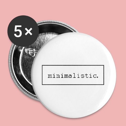 minimalistic buttons - Buttons mittel 32 mm