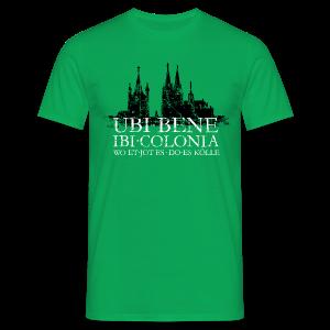 UBI BENE DO ES KÖLLE Dom St.Martin (Vintage S/W) Köln T-Shirt - Männer T-Shirt