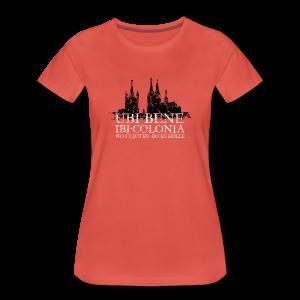 UBI BENE DO ES KÖLLE Dom St.Martin (Vintage S/W) S-3XL Köln T-Shirt - Frauen Premium T-Shirt