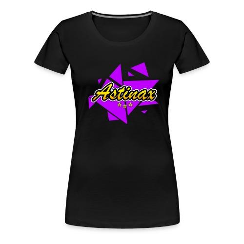 Black Logo Tshirt Women - Women's Premium T-Shirt
