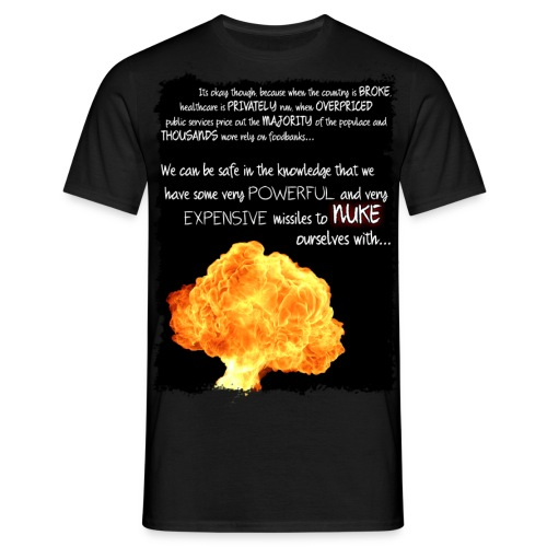 Warfare Logic - Men's T-Shirt