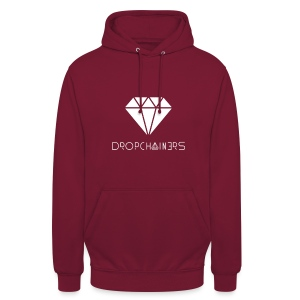 Dropchianers Pullover Rot - Unisex Hoodie
