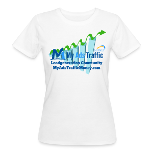 MyAdsTrafficMoney Frauen Bio-T-Shirt - Frauen Bio-T-Shirt