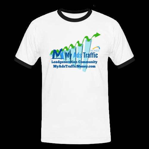 MyAdsTrafficMoney Männer Kontrast-T-Shirt - Männer Kontrast-T-Shirt