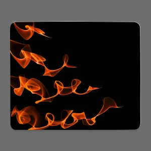 Orange Waves - Mousemat - Mouse Pad (horizontal)