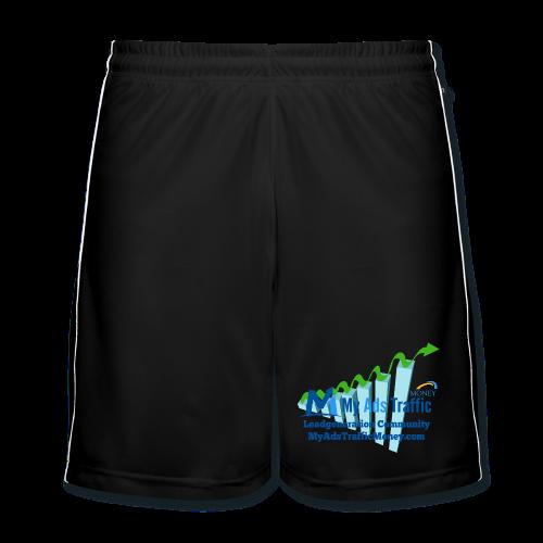 MyAdsTrafficMoney Männer Fußball-Shorts - Männer Fußball-Shorts