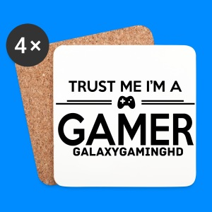 Official GalaxyGamingHD Coasters (Set Of 4) - Coasters (set of 4)