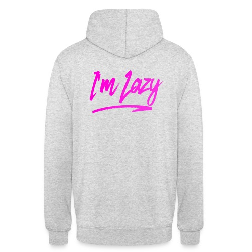 [EXCLUSIVE] I'm Lazy - Gray - Unisex Hoodie