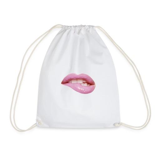 Lippen Gymbag /sportbeutel - Turnbeutel