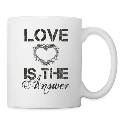 Love is the answer - Tasse