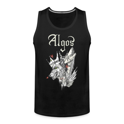 Withered King Tanktop (FRONT ONLY) - Men's Premium Tank Top