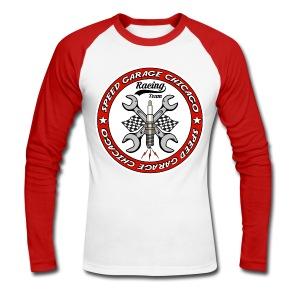 Racing Team - Men's Long Sleeve Baseball T-Shirt