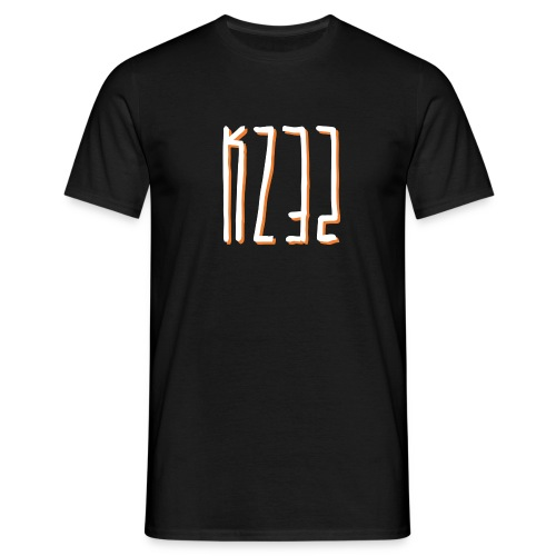 'KZ32' Shadowed T-Shirt - Black - Men's T-Shirt