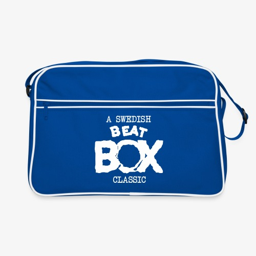 Retro Bag: Beat Box [multiple colors, white logo] - Retroväska